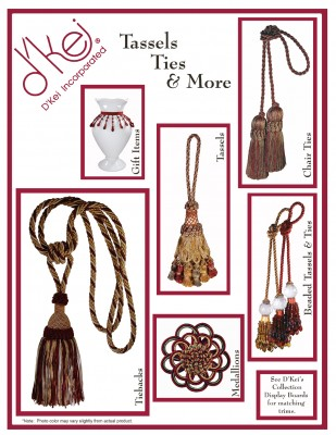 Tassels Ties and More