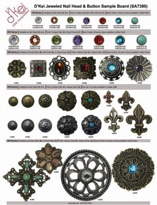 SA7380 Jeweled Nailheads