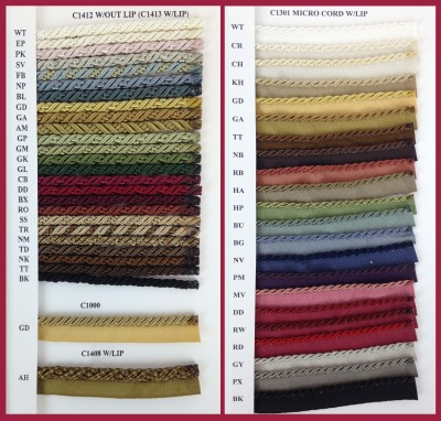 SD1405 Upholstery Cord Collection Page 2