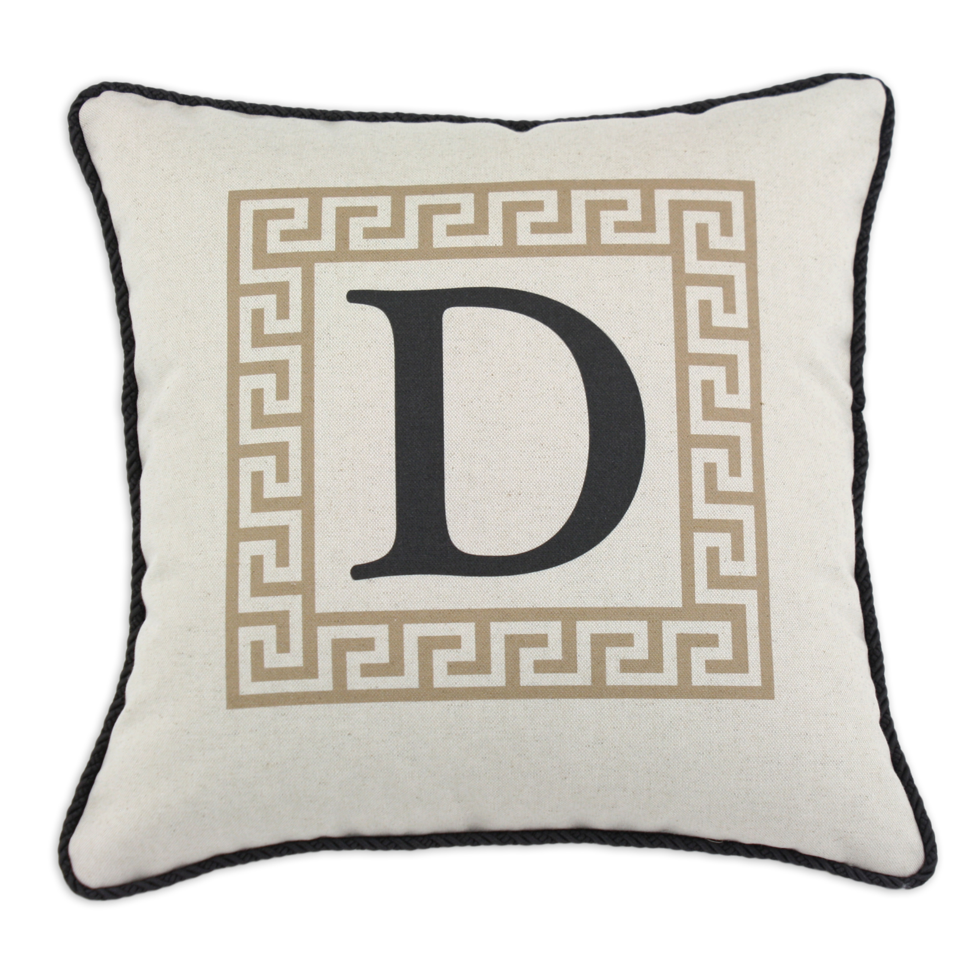 and zoom black silver listing fullxfull initial il decorative monogrammed pillow pillows
