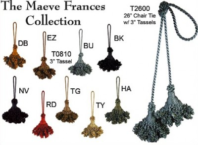 Maeve Frances Collection Tassels