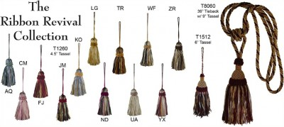 Ribbon Revival Collection Tassels