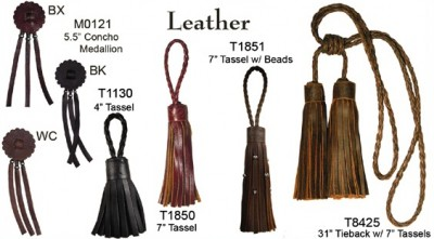 Luke Andrew Leather Collection Tassels