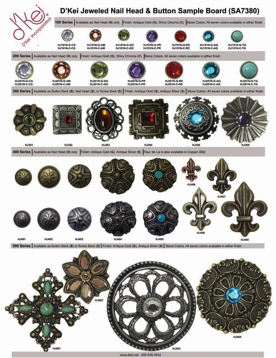 Decorative Nailheads D Kei Trimming