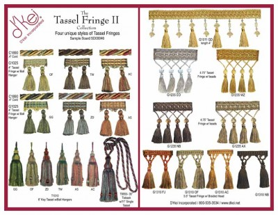Tassel Fringe Collection