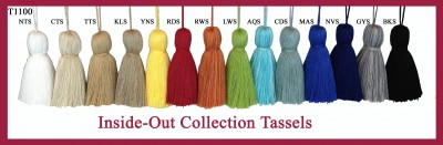 T1100 Inside-Out Collection Tassels