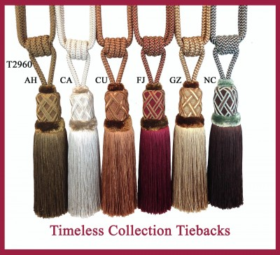 T2960 Timeless Collection Tiebacks
