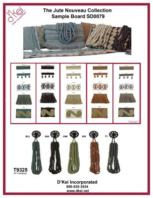 Jute Nauveau Collection SD0079