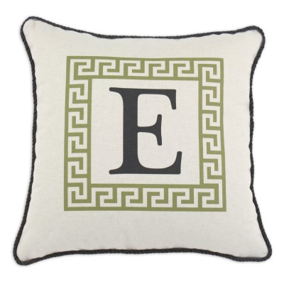 P17-LTRE-GK-87_Green Greek Key Pillow
