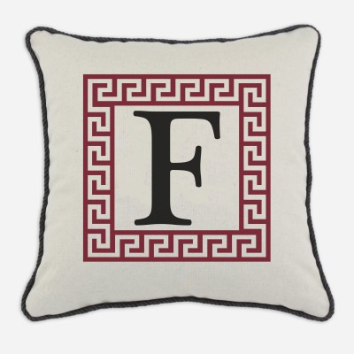 P17-LTRF-GK-49_Red Greek Key Pillow