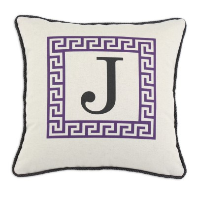 P17-LTRJ-GK-19_Purple Greek Key Pillow