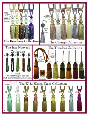 Tassels, Ties, and More Page 1